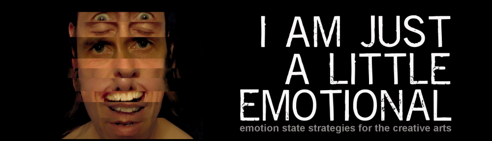 I am Just a Little Emotional facial expression edit picture with logo text