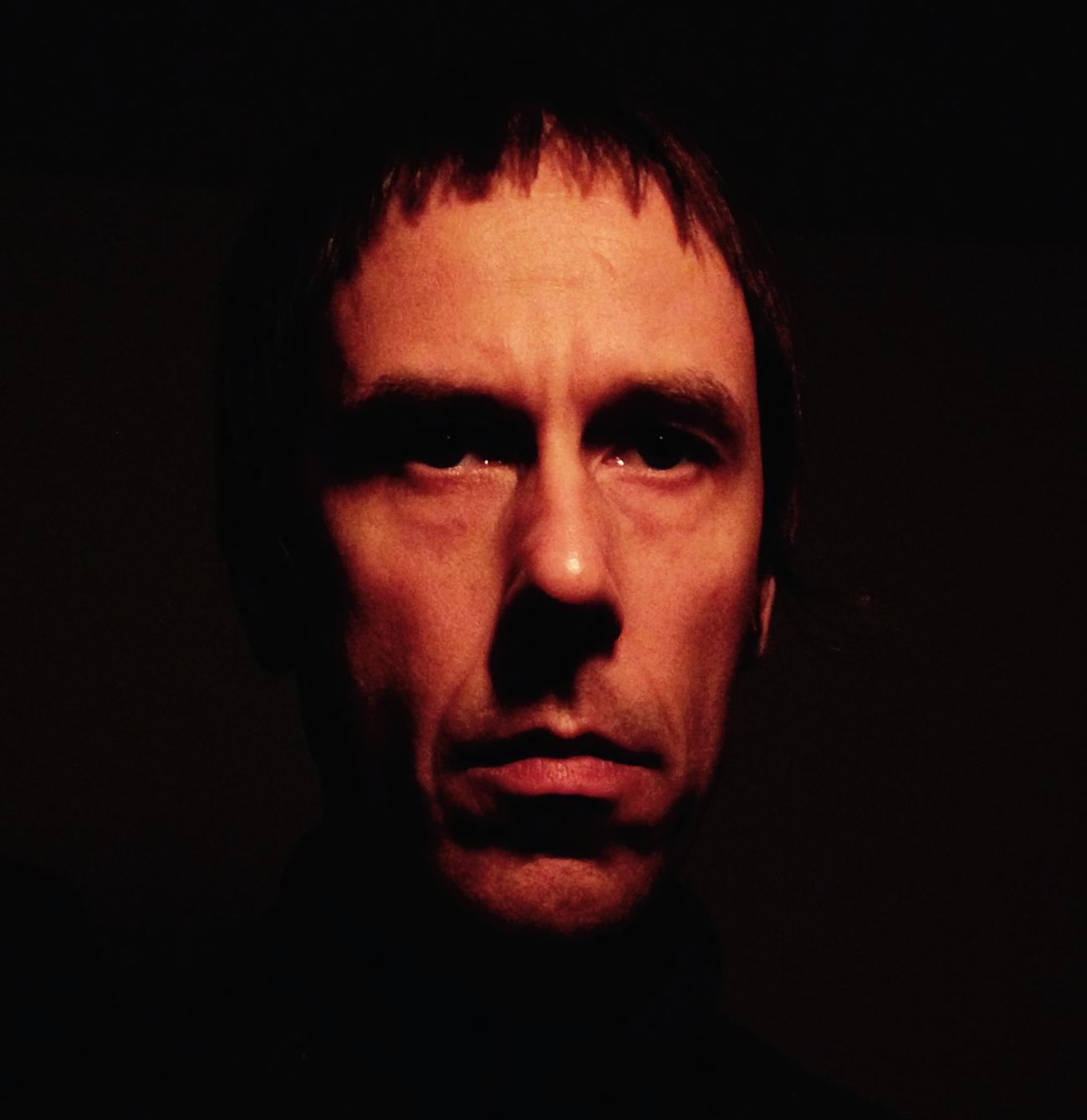 Head shot of Lee Allatson on black background