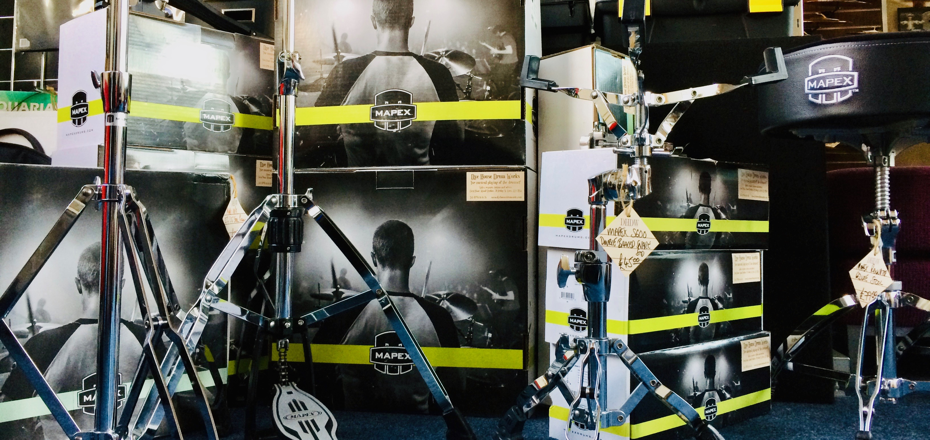 Mapex hardware and boxes - picture