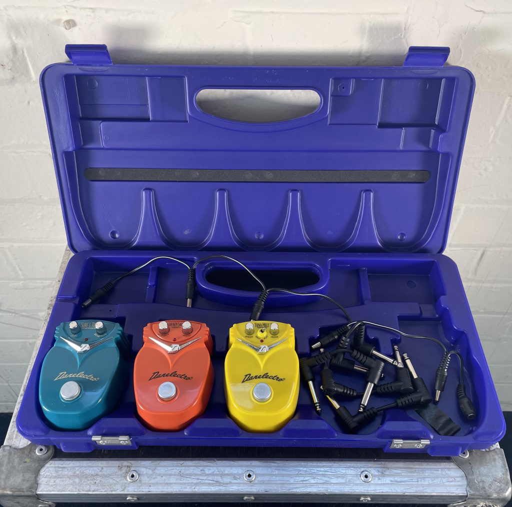 Danelectro Guitar Pedals in Case