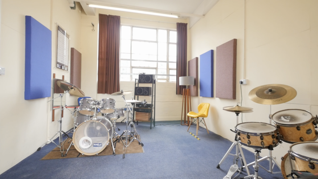 Drum lessons in Leicester at Dye House Drum Works